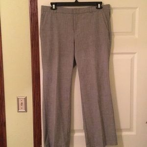 Banana Republic Logan Pants size 14, Gray